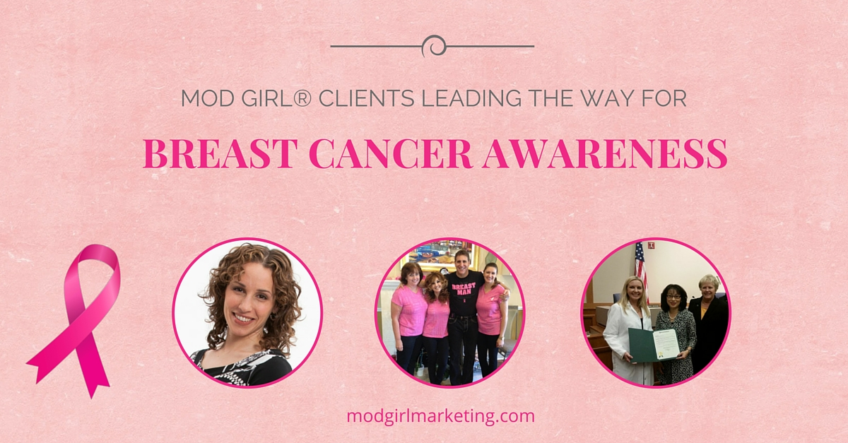 Mod Girl Breast Cancer Awareness Clients