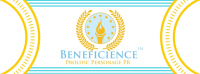 BENEFICIENCE Prolific Personage Public Relations (PR) Logo