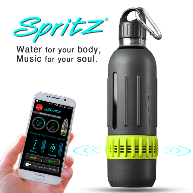 Spritz - Worlds First High-Def Wireless Audio Water Bottle