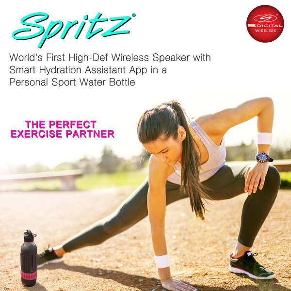 Spritz - The Perfect Exercise Partner