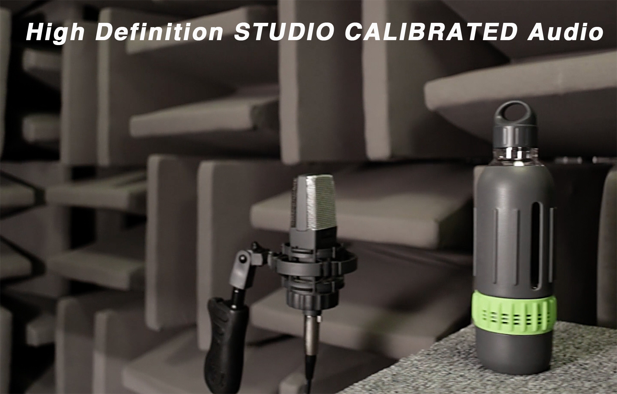 Spritz : The Water Bottle Tuned in an Acoustic Studio