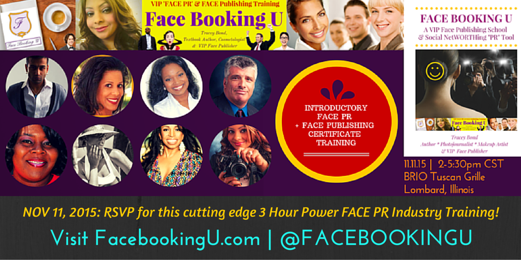 Face Booking U Makes PR Industry History with Intro to Face