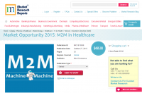 Market Opportunity 2015: M2M in Healthcare