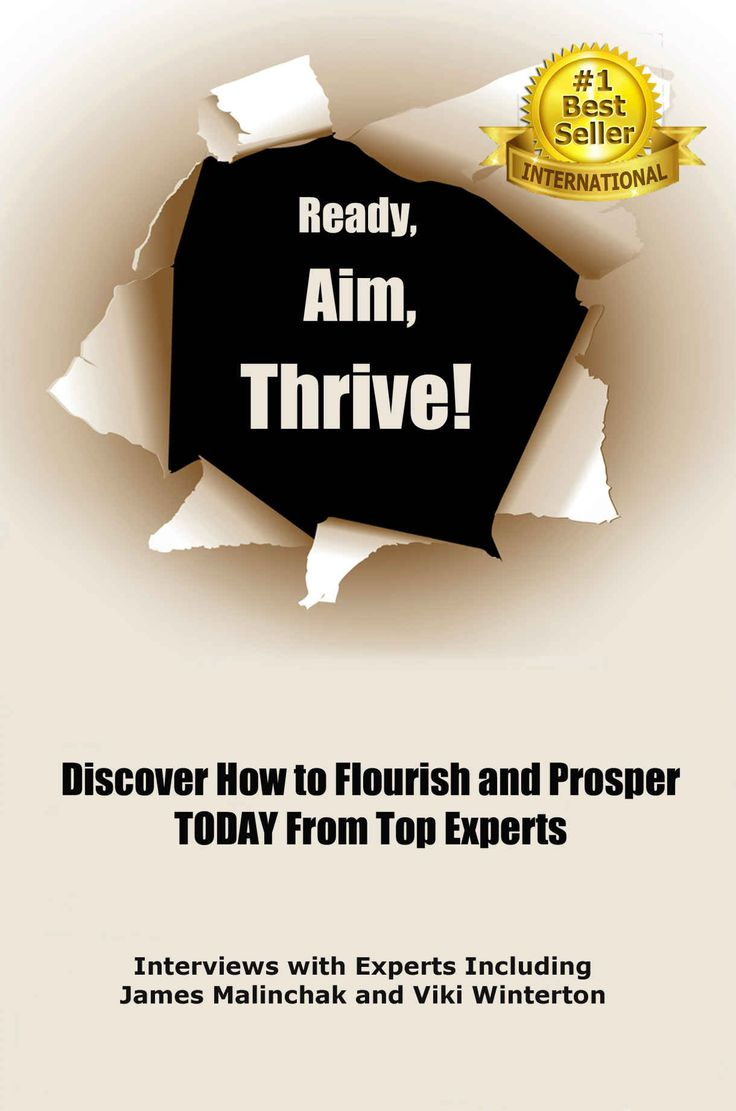 Ready, Aim, Thrive #1 International Best Seller