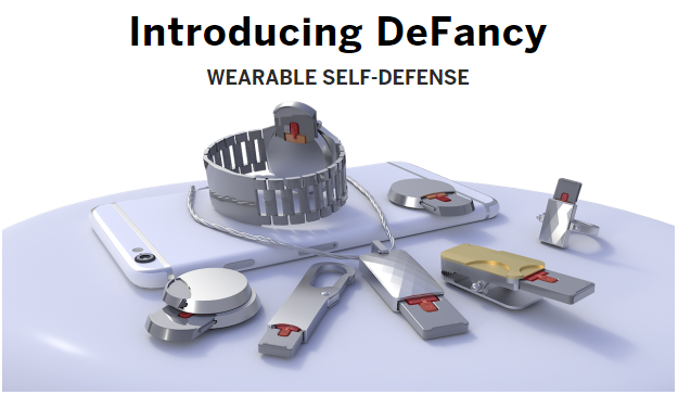 DeFancy Wearable Self-Defense