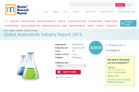 Global Acetonitrile Industry Report 2015