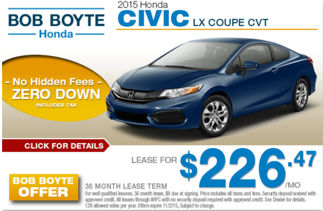 Bob Boyte Online Monthly Specials
