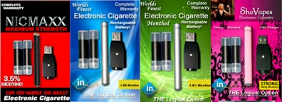 inLife Electronic Cigarette Trial Kits'