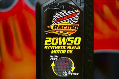 Brett Hearn Wins Again Using Champion Racing Oil'