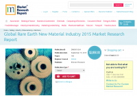 Global Rare Earth New Material Industry 2015