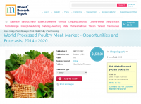 World Processed Poultry Meat Market - Opportunities
