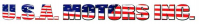 USA Motors Inc. Logo