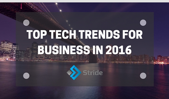 Top Technology Trends For Business In 2016