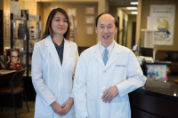 TSO Humble optometrists - Dr. Yeung and Dr. Chu