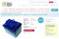 Global Battery Market for Solar PV Inverters 2015-2019