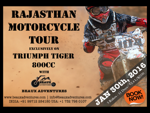 Beaux Adventures Kicks Off the New Year with a Rajasthan Mot'