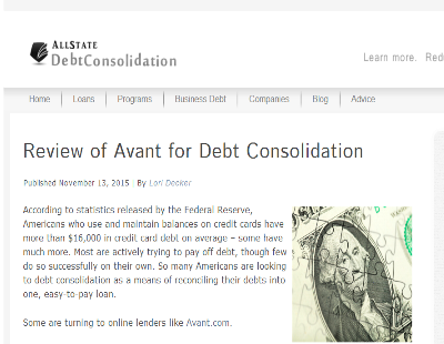 Simple Review for Avant Loans