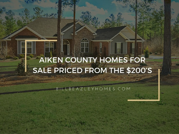 Aiken County! Homes for Sale