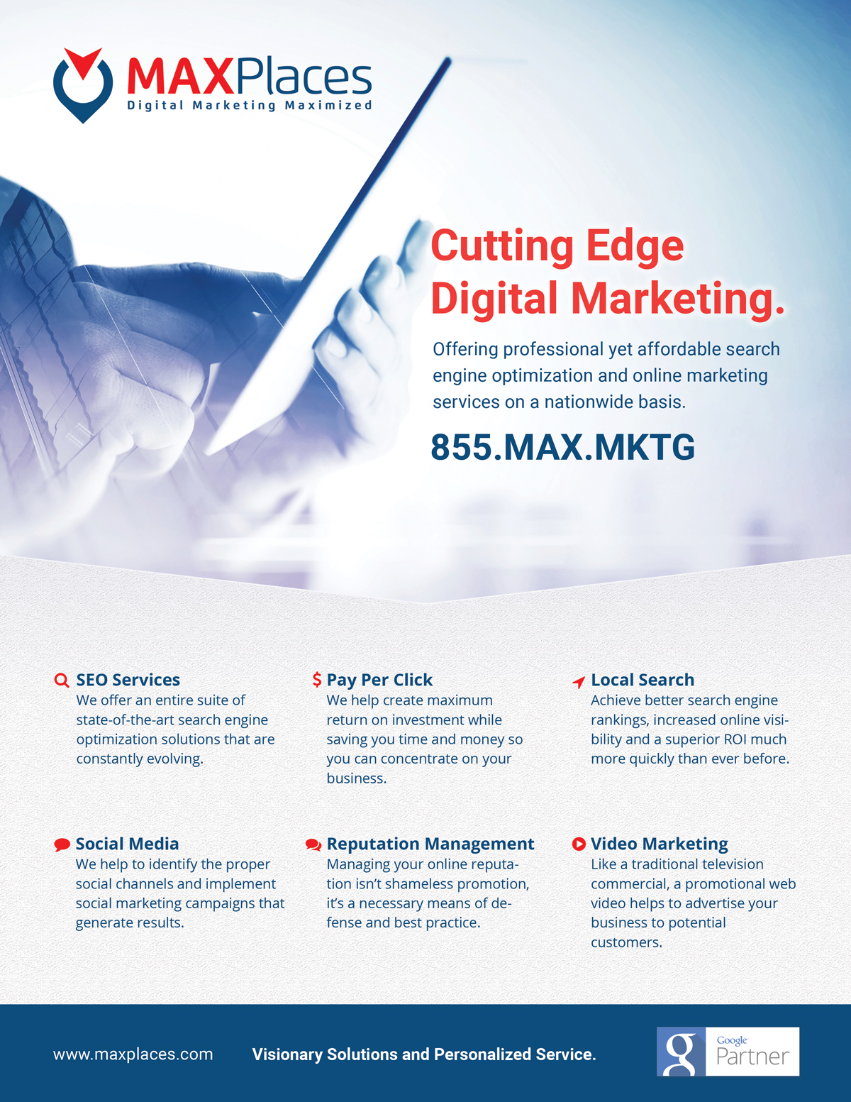 MAXPlaces Marketing Brochure