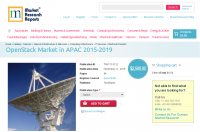 OpenStack Market in APAC 2015-2019