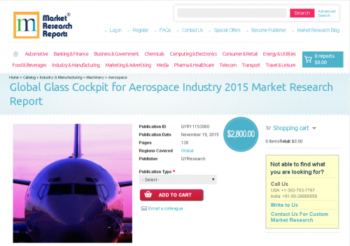 Global Glass Cockpit for Aerospace Industry 2015'