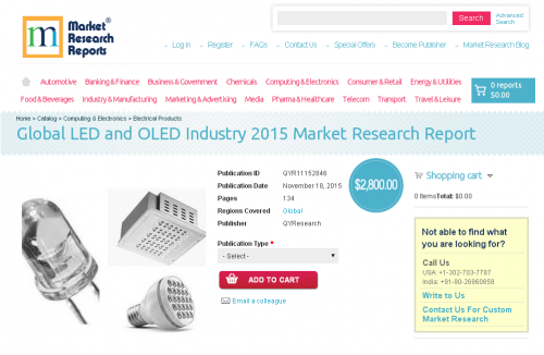 Global LED and OLED Industry 2015'