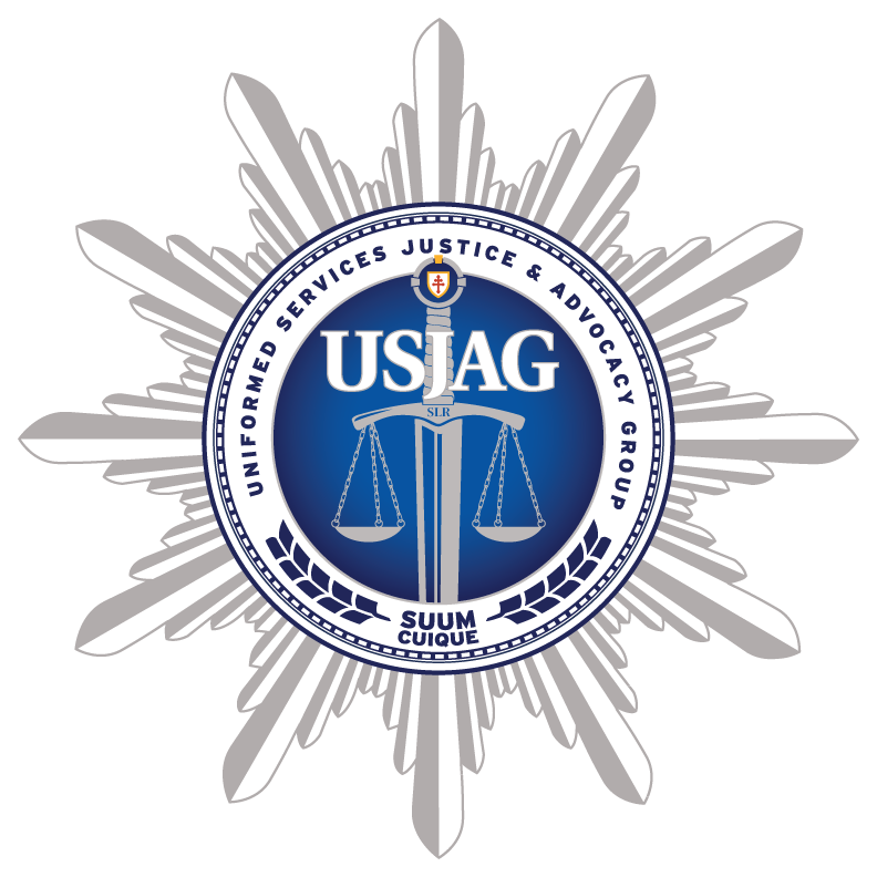 Uniformed Services Justice & Advocacy Group Logo