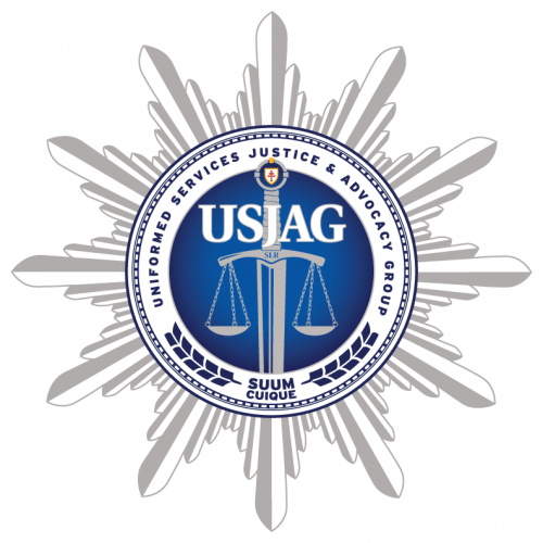 Company Logo For Uniformed Services and Justice Advocacy Gro'