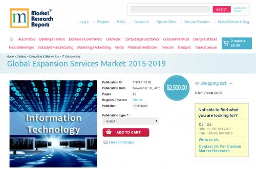 Global Expansion Services Market 2015-2019'