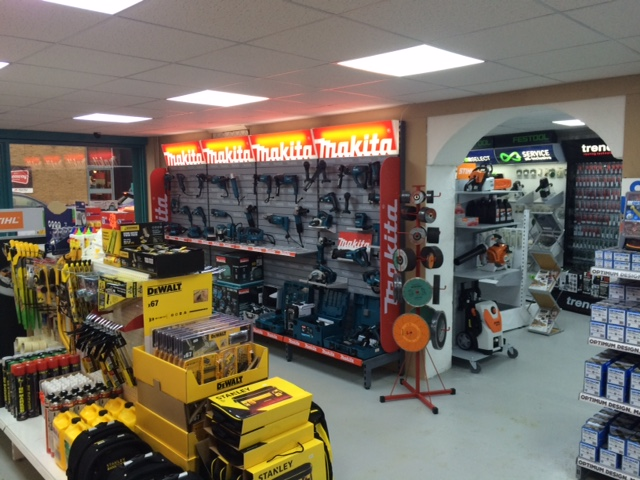 Inside the Lakedale Power Tools Dartford Branch