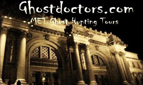 Ghost Doctors Meteropolitan Museum of Art NYC'