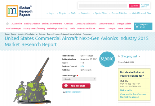 United States Commercial Aircraft Next-Gen Avionics Industry'