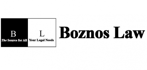 Company Logo For Boznos Law Office'