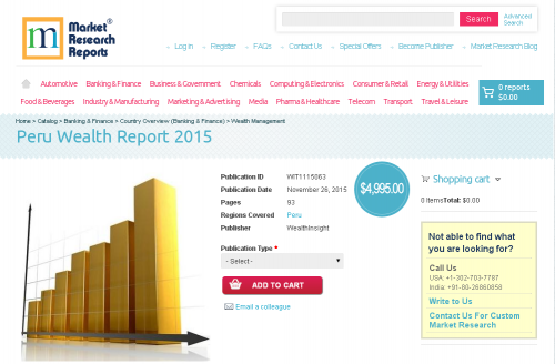 Peru Wealth Report 2015'