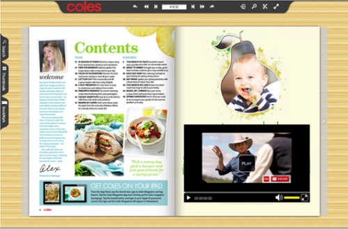 food magazine'