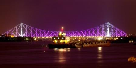 Howrah Bridge Kolkata (Cantilever bridge in Howrah)'