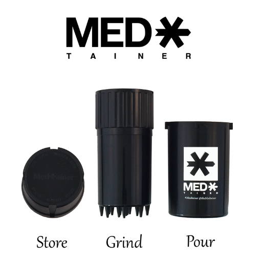 The Medtainer Smokes The Competition