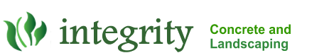 Company Logo For Integrity Landscaping and Concrete'