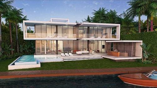 Julian Johnston Presents Seven Bedroom Palm Island Home'