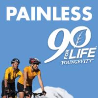 Painless.My90ForLife.com Logo
