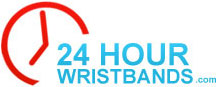 Logo for 24hourwristbands.com'