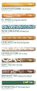 Designer Collection of Green Smoke'