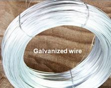 galvanized wire'