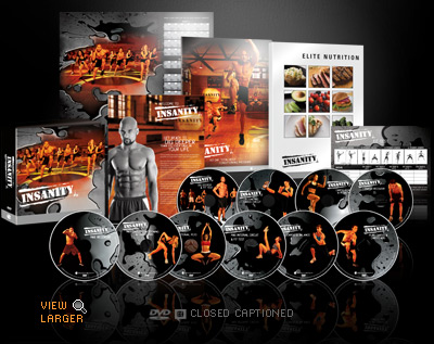 Insanity Workout Cd's'