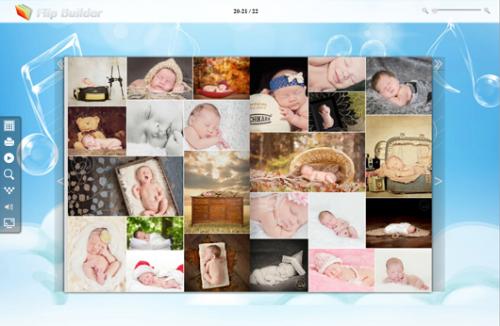 free photo magazine template'