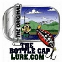 The Original Bottle Cap Lure Company Logo