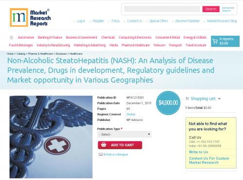 Non-Alcoholic SteatoHepatitis (NASH)'