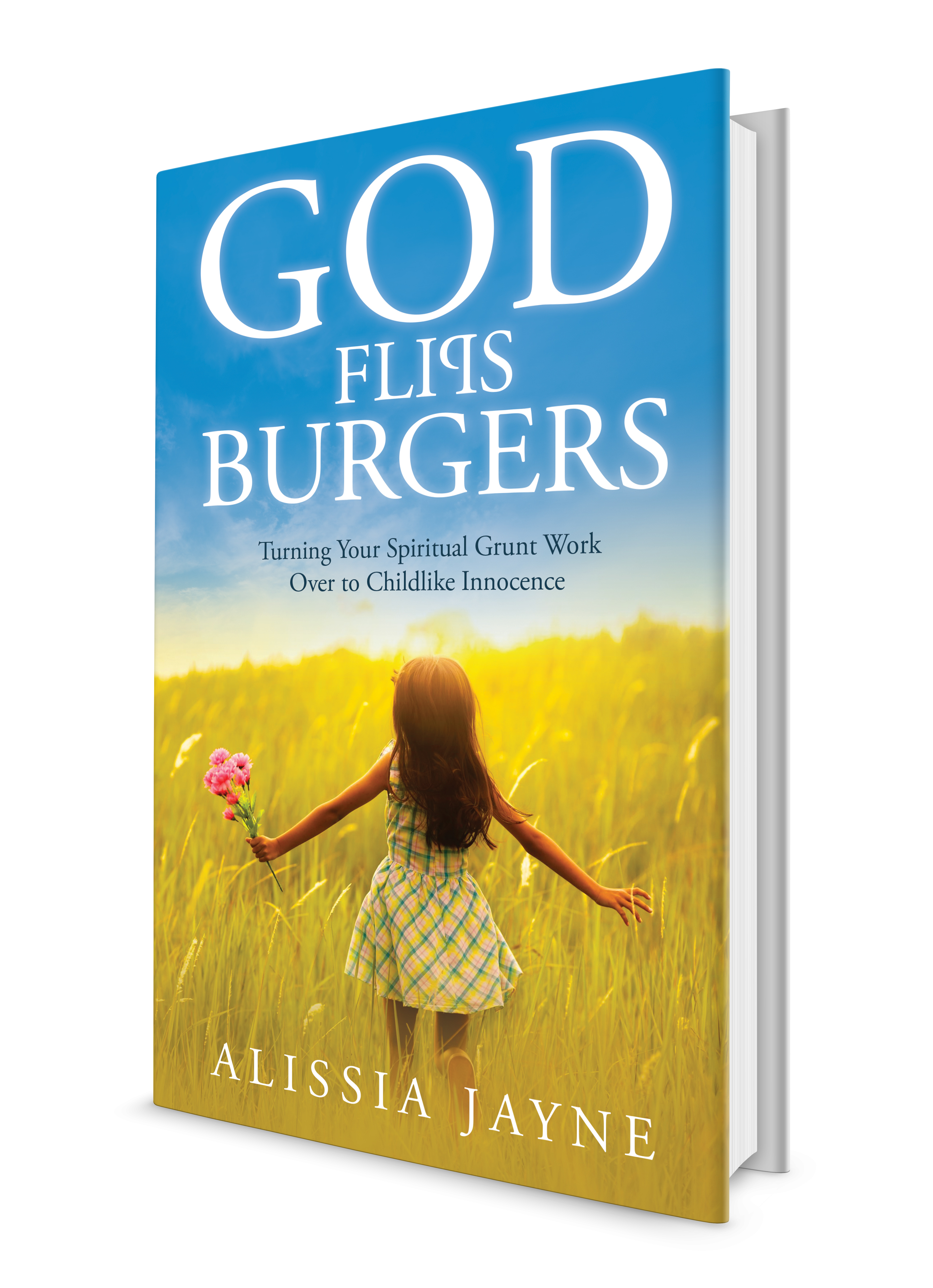 God Flips Burgers book cover.