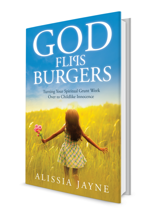 God Flips Burgers book cover.'
