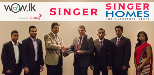 Singer Sri Lanka partners with Wow.lk'